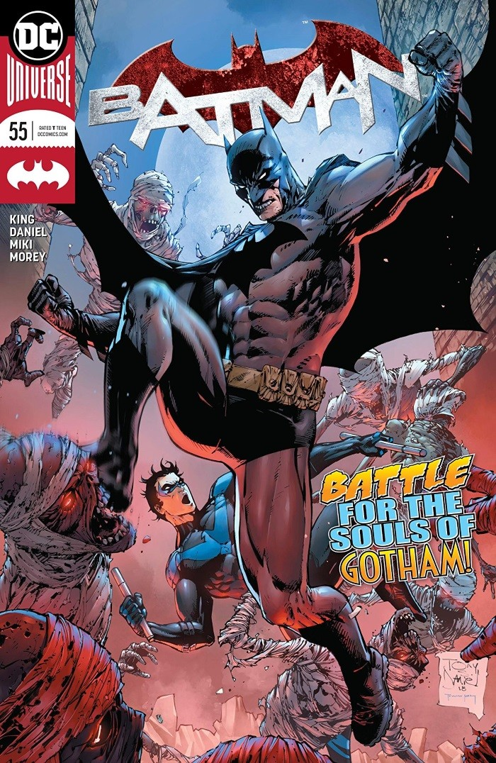 BATMAN #55 Review by John Bierly